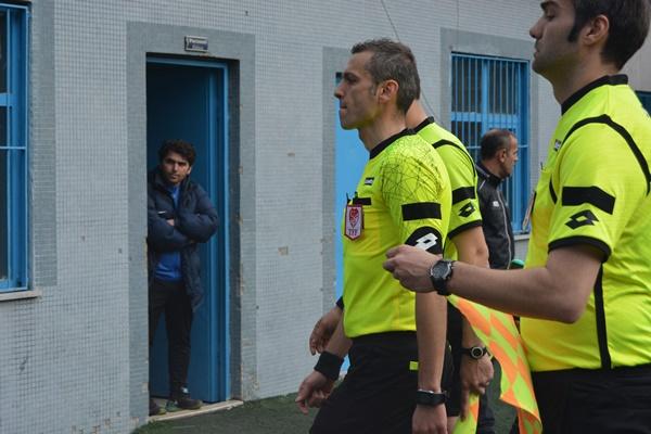 Trabzon'da maçta olay çıktı!