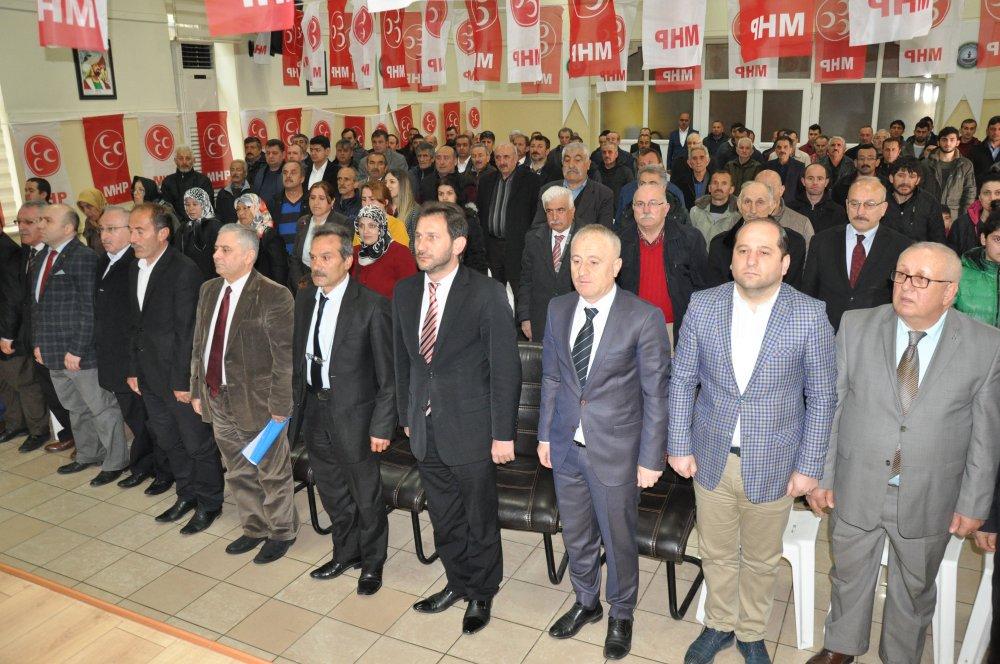 MHP Maçka ilçe kongresi yapıldı