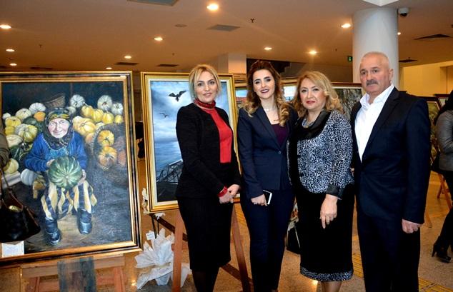 ''Fırçamda Trabzon'' adlı resim sergisi açıldı