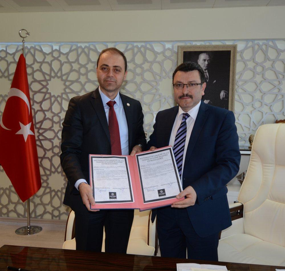 Ortahisar protokol imzaladı