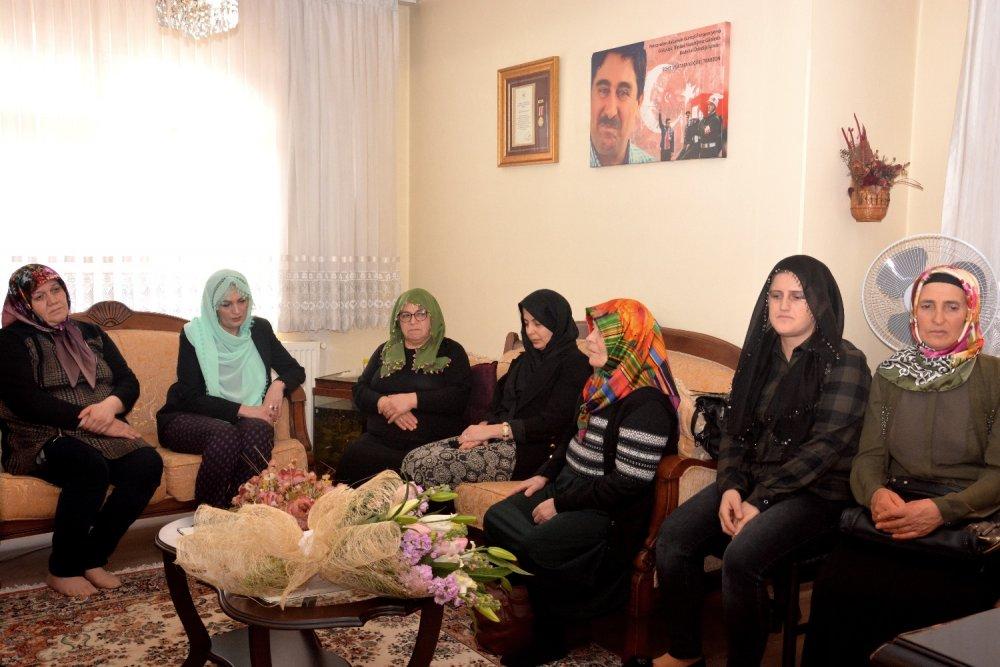 Trabzon'da Şehit aileleri bir araya geldi