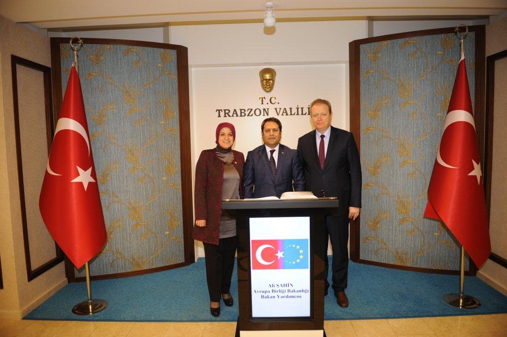Bakan Yardımcısından Trabzon Valiliği'ne ziyaret