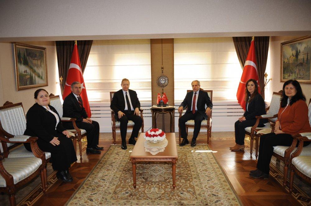 İL AFAD Müdürü'nden Trabzon Valiliği'ne ziyaret!