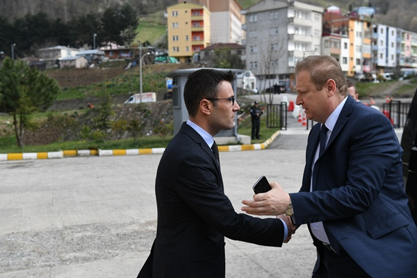 Vali Yavuz'dan 2 ilçeye ziyaret