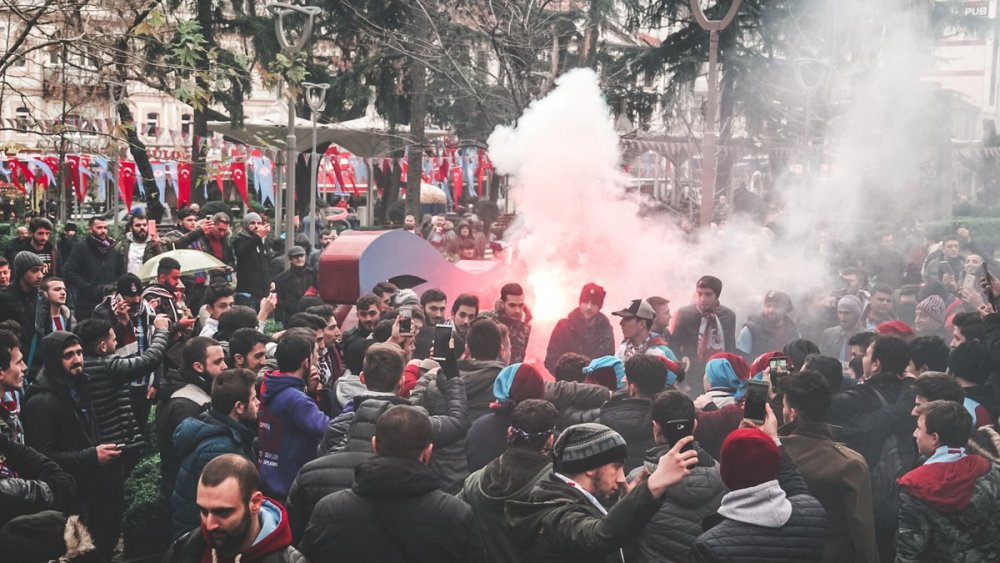 Trabzon'da şenlik erken başladı