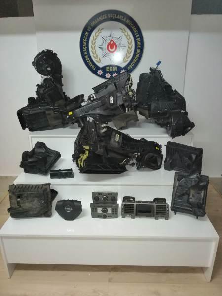 Trabzon'da kaçakçılık operasyonu - Uyuşturucudan araba parçalarına kadar…