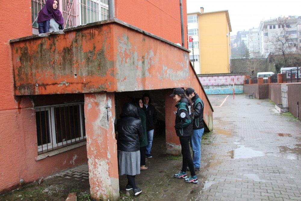 Trabzon sizde ihbar edin Çocuklarınız için