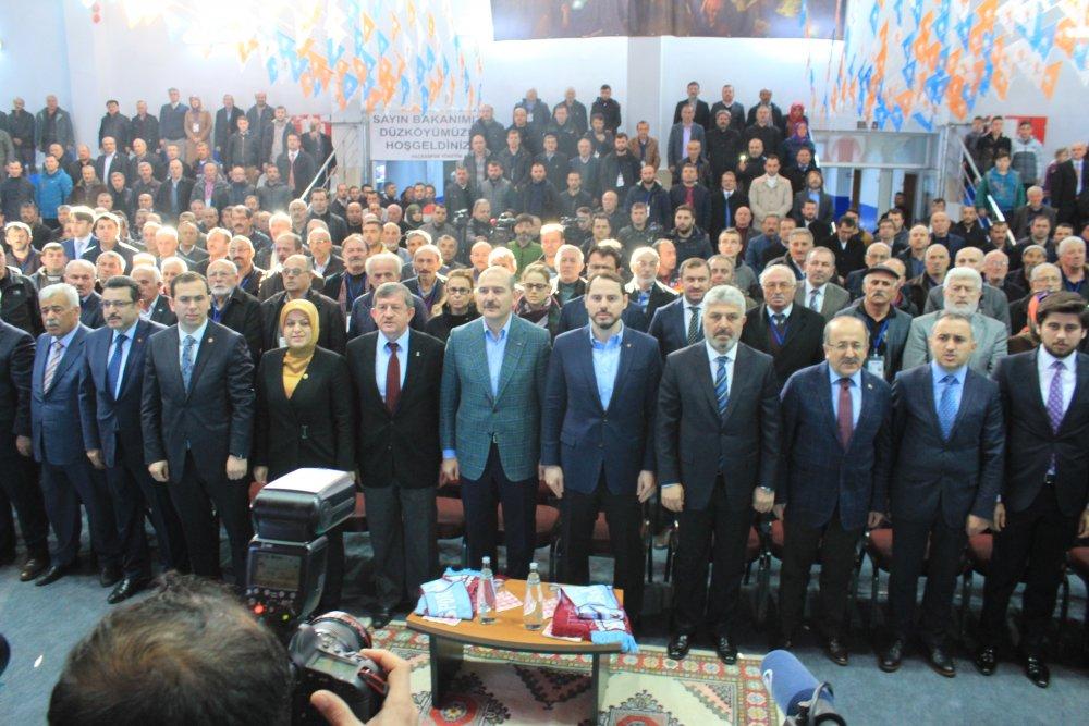 AK Parti Düzköy 6. olağan ilçe kongresi başladı