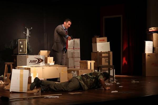 Akçaabat Tiyatro günlerinde Gece Boyunca oyunu