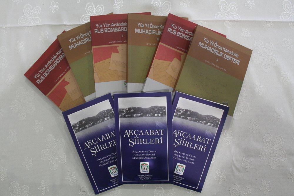 Akçaabat'a 3 yeni kitap