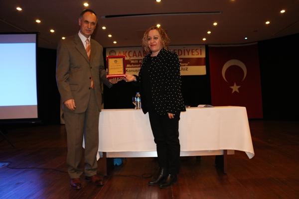"""Akçaabat'ta """"M. Akif Ersoy ve İstiklal Marşı"""" Konulu Konferans"""