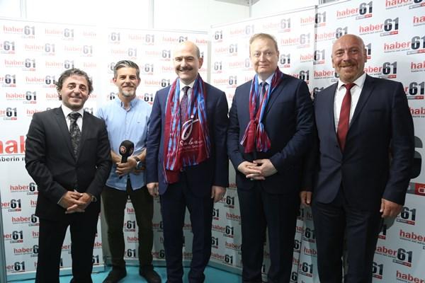 İçişleri Bakanı Süleyman Soylu: Hemşerilerimizle olmak mutlu ediyor