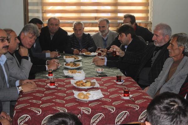 Araklı'da muhtarlardan Emniyet Müdürlüğüne destek