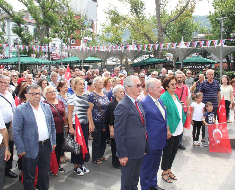 CHP Trabzon'dan 29 Ekim mesajı