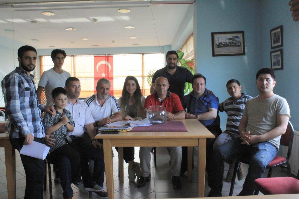Trabzon'da sığınmacı ve göçmenler için futbol turnuvası