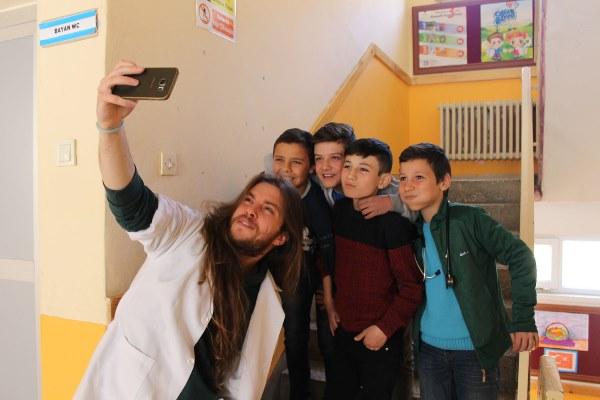 Trabzon'da hem öğrendiler, hem eğlendiler