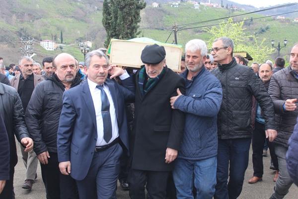 Trabzon sporunun efsane ismine son veda