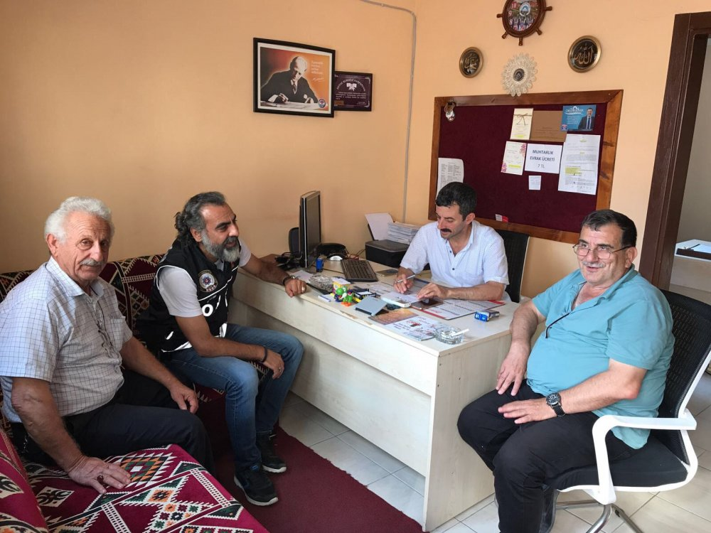 Narko -  Muhtar Trabzon'da bu proje tutar