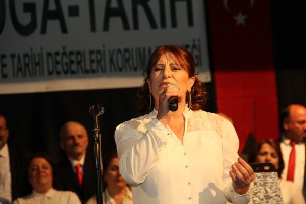 Trabzon'da solistler geçidi
