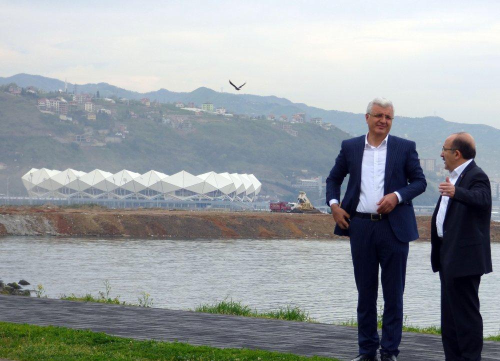 """""""Trabzon'un sahili Trabzon'un ilgi alanı olarak"""""""