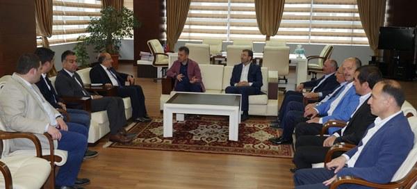 Trabzon'da dev İftar öncesi ziyaret