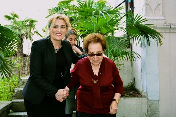 Şengül Yavuz'dan Trabzon'un 2 çınarına ziyaret