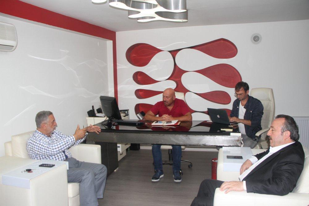 Trabzon Film Festivali heyeti Haber61'i ziyaret etti