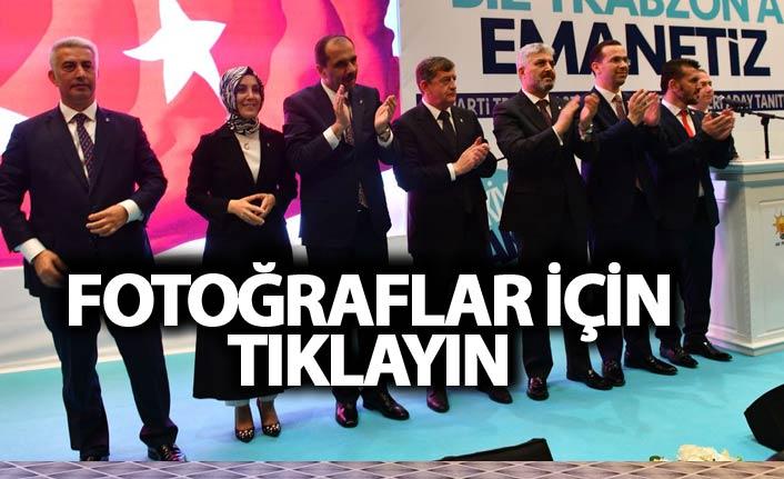 AK Parti Trabzon'da milletvekili adaylarını tanıtıyor
