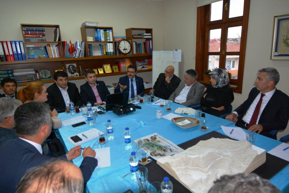 Mağmat Boğazı'na yapılacak proje masaya yatırıldı