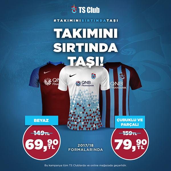Trabzonspor taraftarı takımını sırtlayacak