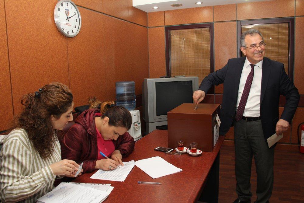 Trabzon Ticaret Borsası'nda seçim heyecanı