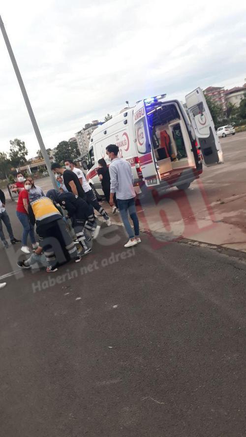 Trabzon'da otomobil duvara çarptı: 4 Yaralı