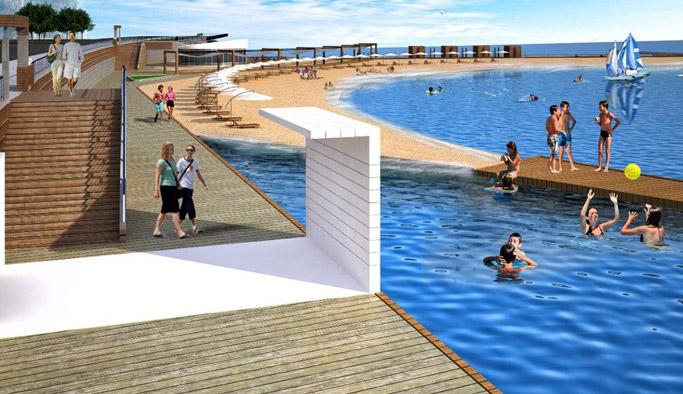Trabzon'un ilçesine plaj müjdesi