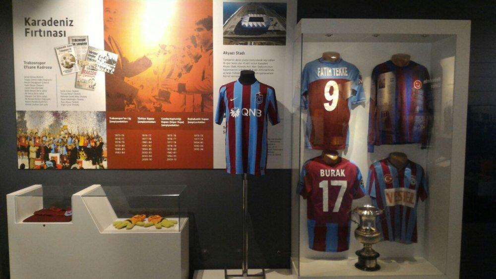Trabzon Müzesinde dikkat çeken detay