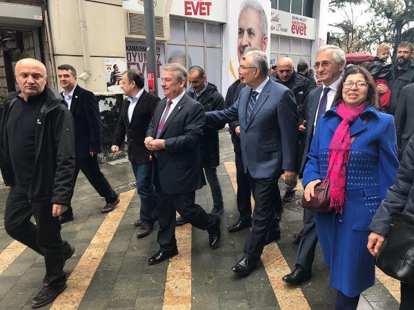 Deniz Baykal Trabzon'da