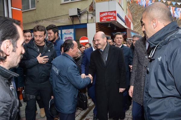 """Soylu: """"Safitürk'ün katlini planlayanı bu sabah böyle alıverdiler"""""""