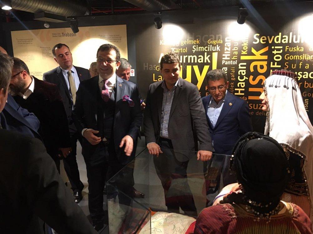 İmamoğlu CHP heyetine Trabzon'u gezdirdi
