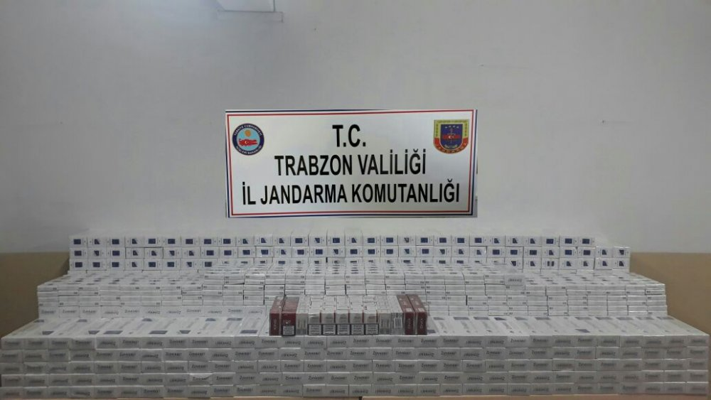 Trabzon kaçağa geçit yok