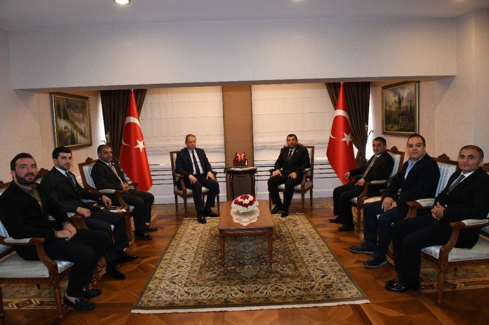 Trabzon SİAD'dan Vali Yavuz'a ziyaret