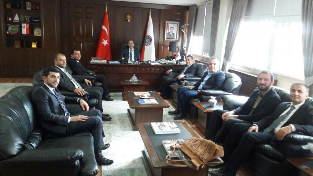 TSİAD'dan Emniyet Müdürü Arıkan'a ziyaret