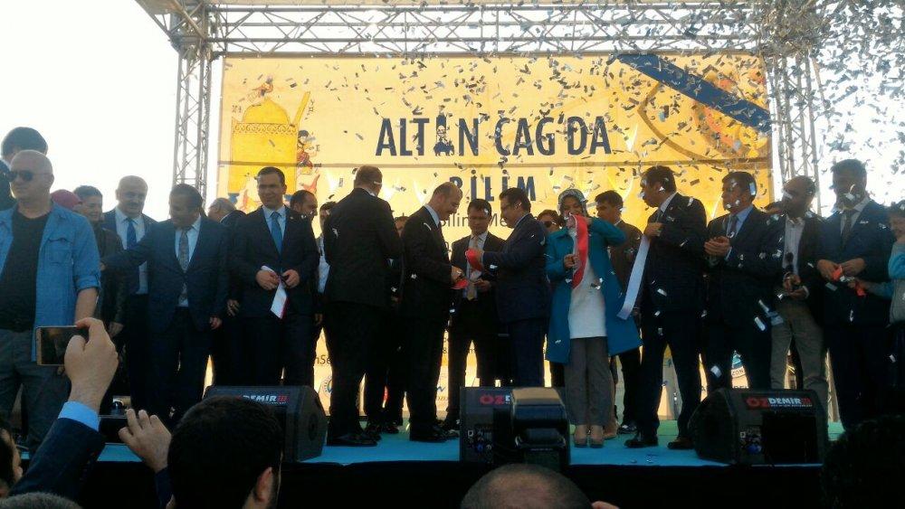 Trabzon'da Altın Çağ'da Bilim Sergisi açıldı