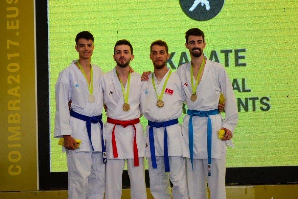Trabzonlu karateci Avrupa Şampiyonu oldu!