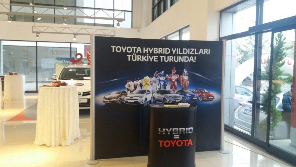 Toyota Hybrıd Yıldızları Trabzon'da