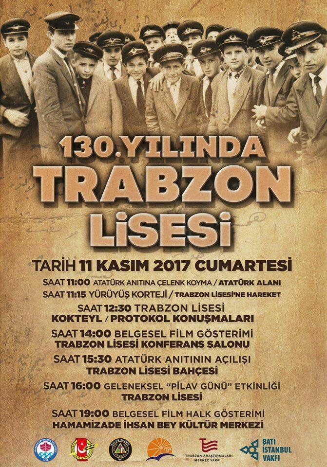Trabzon Lisesi 130. Yılını kutluyor