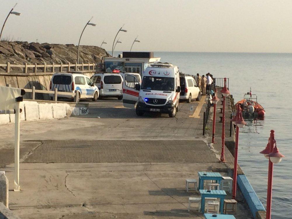 Şok! Trabzon'da denizde ceset bulundu