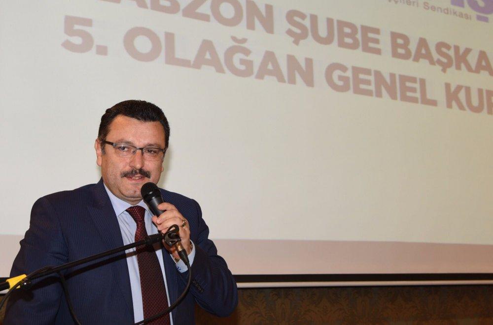 Trabzon Hizmet-İş İl Kongresi yapıldı