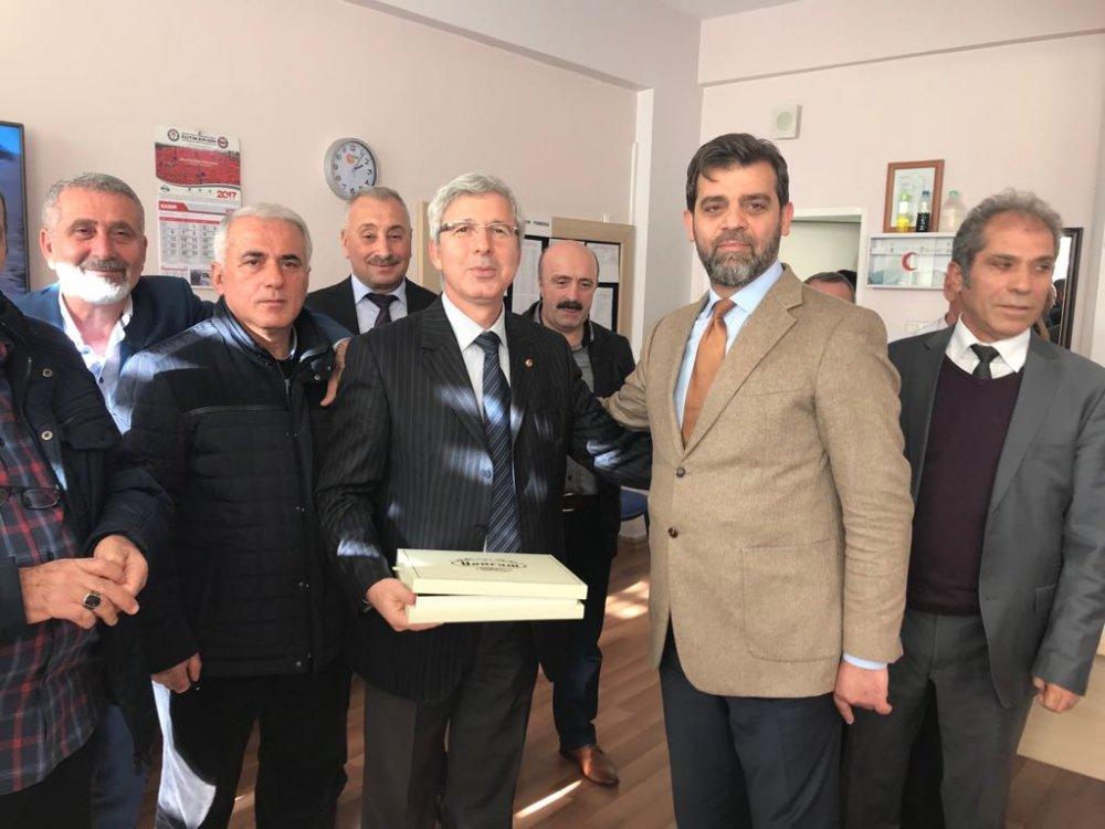 Hasan Saka'dan öğretmenlere ziyaret