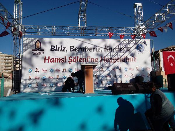 Kardeşlik sofrası Kızıltepe'de kuruluyor