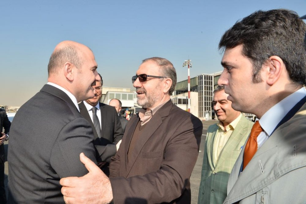 İçişleri Bakanı Süleyman Soylu İran'da