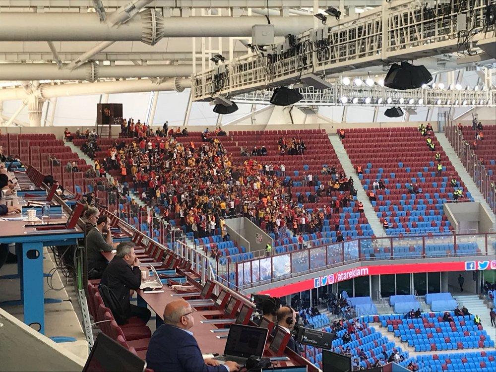 Kayseri'den 15 otobüs taraftar maça geldi